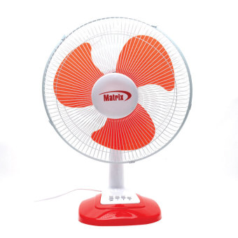 "Matrix MX-TF251 Desk Fan 16"" (Red) Price Philippines"