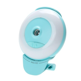 Mini Luminous Humidifier USB Nano Mister Facial Moisturizing Spray (Green) - intl Price Philippines