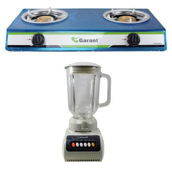 Garant GGS800SS Two Burner Gas Stove with Garant GRB-531 Blender 1.5L Price Philippines
