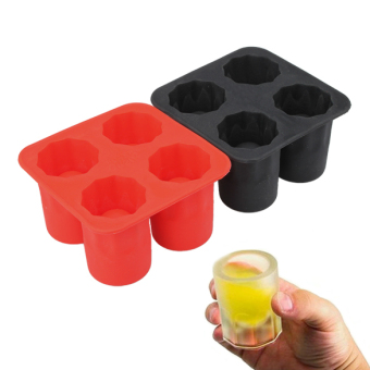 Harga Vakind Cool Ice Tray Party Shooters Supplies Shot Glasses N - intl