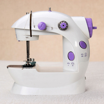 Harga VAKIND Portable Handheld Mini Electric/Charger Powered Sewing Machine