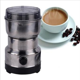 Harga Electric Coffee Beans Grinder Coffee Maker Nuts Mill Stainless Steel Grinding Bean Nut Spice Herbs - intl