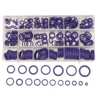 225Pcs Seal O-ring R134a R22 Air Conditioning O-Ring Rubber Washer Assortment PL - intl Price Philippines
