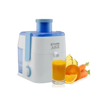 Imarflex IJE-3000 Electric Juicer 1L (White/Blue)