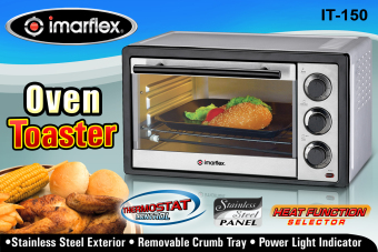 Imarflex IT-150 Electric Oven 15L - 2