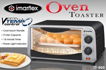 Imarflex IT-900 Oven Toaster 9L (Black/Silver) - 2