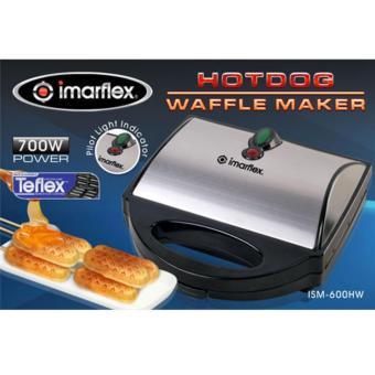 ISM-600HW Imarflex hotdog waffle maker - 2