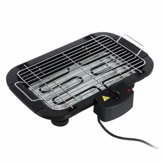 J&J Electric Barbecue Grill-Black
