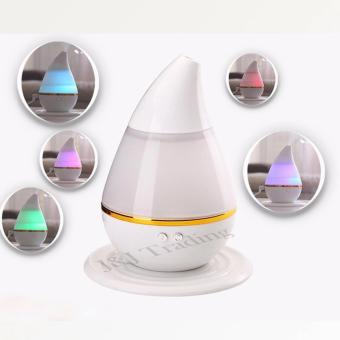 J&J Ultrasonic Atomization Colorful Gradient Light Humidifier -White - 2