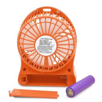 Kingdo Brand Mini USB Rechargeable Portable Cooling Desk Fan - 3