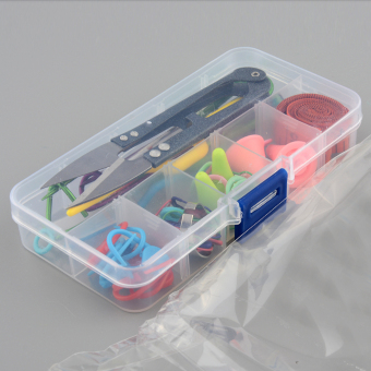 Knitting Tools Crochet Yarn Hook Stitch Accessories Supplies With Case Kit Gift - 2