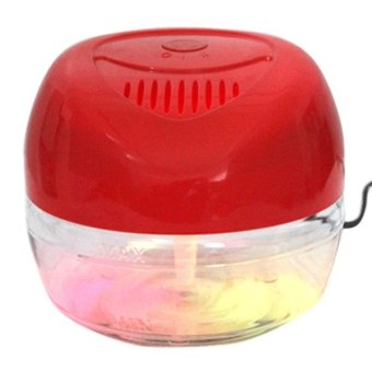 KS-03CL Air Revitalisor with 6 Colorful LED Lights (Red) - picture 2