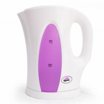 Kyowa KW-1346 Electric Kettle (White/Violet)