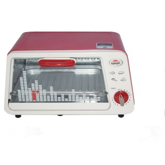 Kyowa KW-3216 Oven Toaster (Red/White)