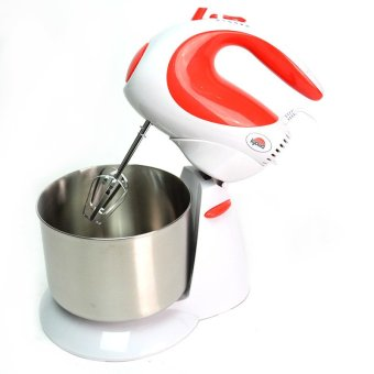 Kyowa KW-4503 Stand Mixer (White/Red) - picture 2