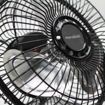 Marubishi MFF-206 High Velocity Fan (Black/Silver) - 2