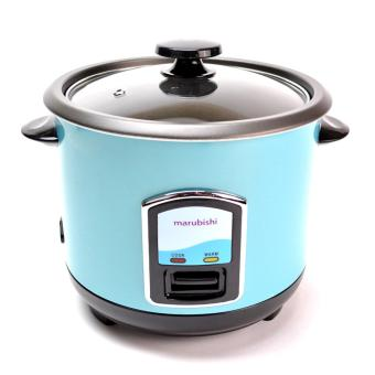 Marubishi MRC 405 Rice Cooker 1L (Black/Blue)