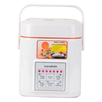 Marubishi MRC103 Rice Cooker With Microcomputer Control 0.6L(White)