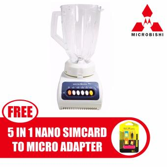 Microbishi Blender 1.5L MJB-9991/MSJB-1.5LA with free Nano SIMAdapter Nano to Micro SIM Micro SIM to Standard SIM Card Adapter 5IN 1 Tools Kit Price Philippines