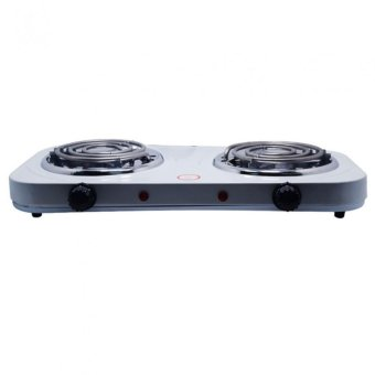 Microbishi MES-2010A Best Quality Dual 1000W Double Electric Stove(White) - 3