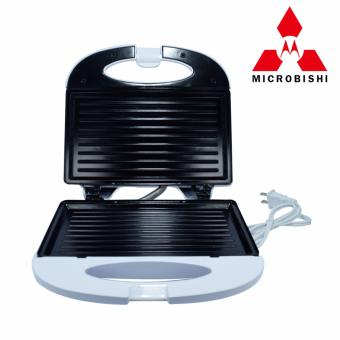 Microbishi Sandwich Maker MSM-2626/KW-2626 Microbishi (White) withFree Mini Foldable All-In-One Monopod - 3