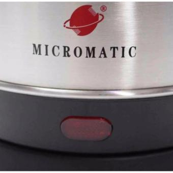 Micromatic MCK1800 Electric Kettle 1.8Liters Stainless (Silver) - 3