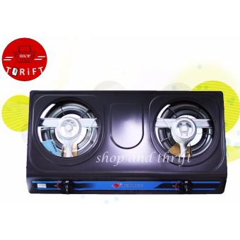 Micromatic MGS-222 2 Burner Gas Stove WITH Regulator (Grey) Price Philippines