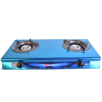 Micromatic MGS-262 Double Burner Gas Stove with Free Regulator