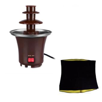 Mini Chocolate Fondue Fountain with Hot Shaper for Belly