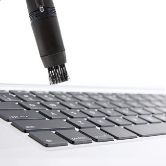 Mini Notebook Computer Vacuum Keyboard Cleaner For PC Laptop Black- intl