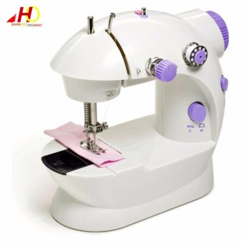 Mini Portable 2-Speed Sewing Machine (White)