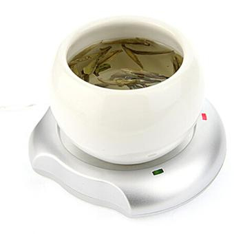 Office House Use USB Powered Tea Coffee Milk Cup Mug Warmer HeaterPad - intl - 2