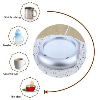 Office House Use USB Powered Tea Coffee Milk Cup Mug Warmer HeaterPad - intl - 5