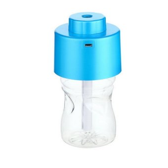 Portable Bottle Cap Air Humidifier with Bottle (Blue) (Intl) - picture 2