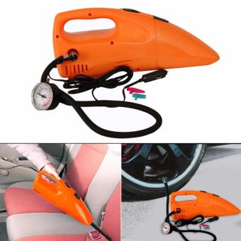 Portable Car 3 in 1 Vacuum Cleaner with Inflator and Tire Pressure Gauge