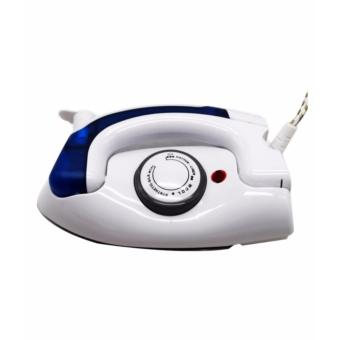 Portable Folding Electric Iron travel irons (White Blue)