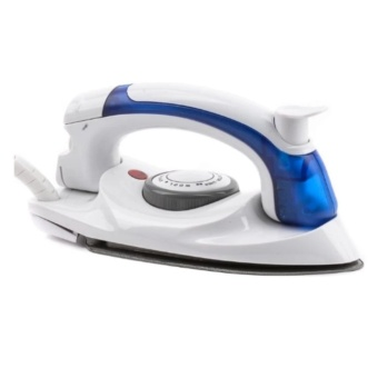 Portable Folding Soarin Electric Iron travel irons (White Blue)