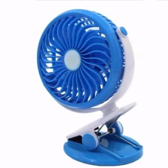 Portable Mini Clip on USB Fan Table Desk Stroller Fan