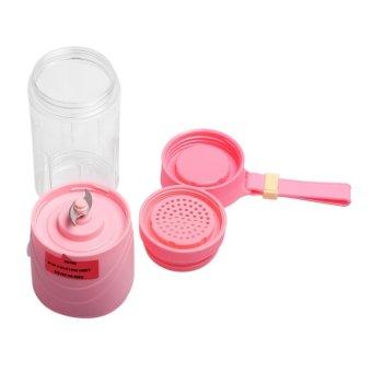 Portable USB Rechargeable Juice Blender (Pink)