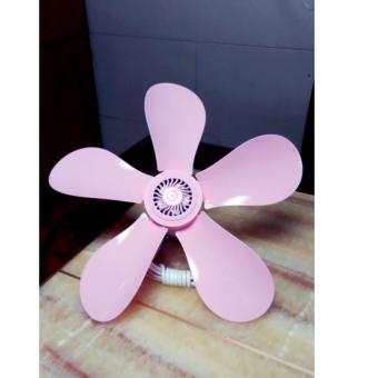 SeanSean Baihua Mini Ceiling Fan 420 (Pink) - 2