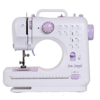 Sew Simple 12-Stitch Sewing Machine (White)
