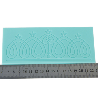 Silicone Embossing Mold for Fondant Lace Gum Paste Cake Decorating Tool