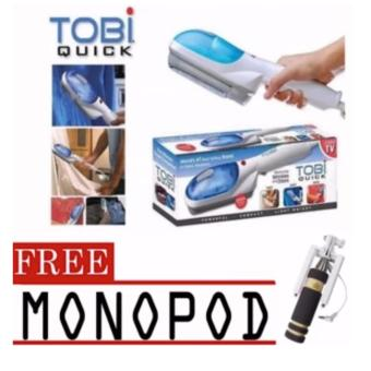 Tobi Travel Steamer Portable Cloth Steamer with free Mini Monopod(color may vary)
