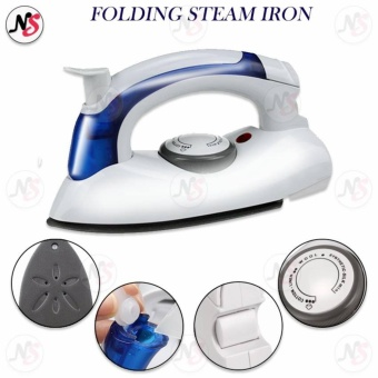 Travel Folding Steam Iron w/ Variable Temperature Control HT258B (White)