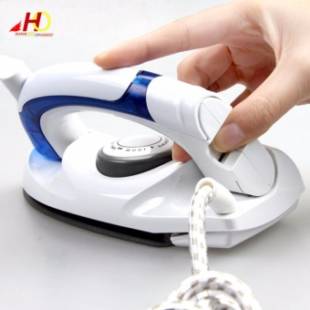 Travel Folding Steam Iron w/ Variable Temperature Control HT258B(White)