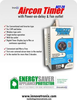 Tronix Aircon Timer/ ACT-20 / Appliance Protector & EnergySaver Price Philippines