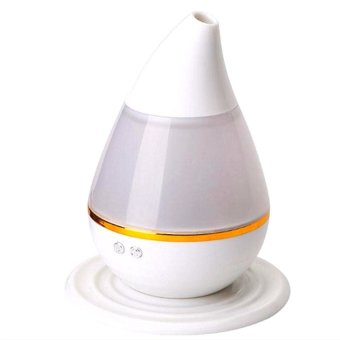 Ultrasound Atomization Humidifier Colorful Gradient Light (White) with Free Yoga Mat 5mm (Any color) - picture 2