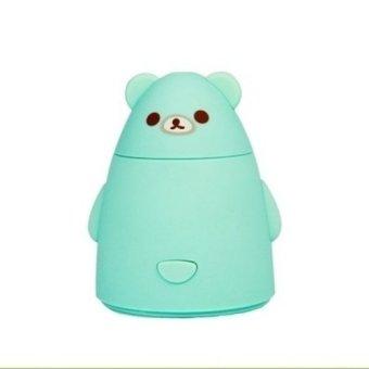 USB Cool Mist Humidifiers Lovely Bear Blue (Intl)