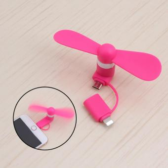Usb Mini Fan 2 in 1 For Android and IPhone Price Philippines