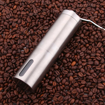 VAKIND Manual Coffee Grinder Conical Burr Mill 'silver) - 2